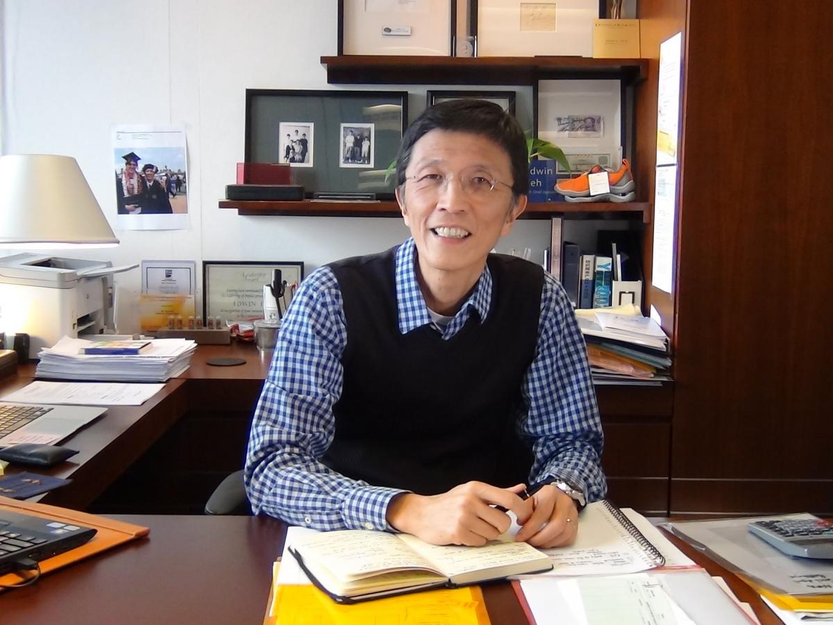 Mr. Edwin Keh, CEO, The Hong Kong Research Institute of Textiles and Apparel