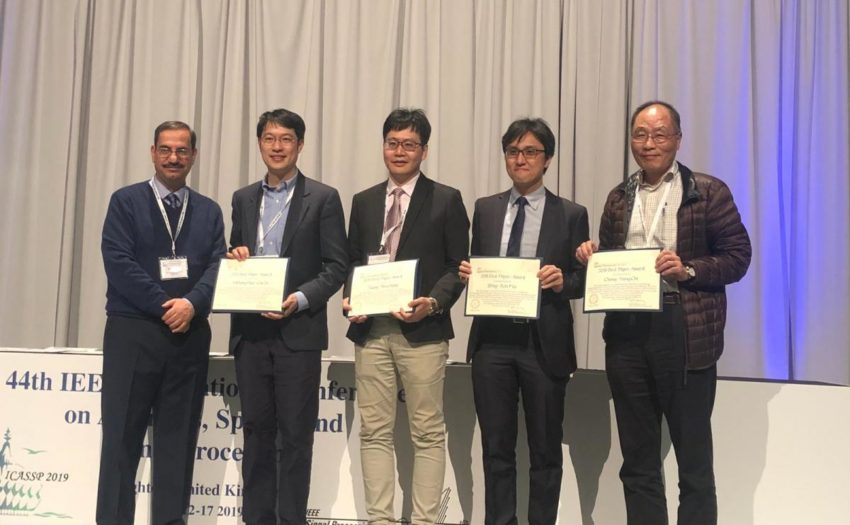 Professor Anthony Man-Cho So Receives the 2018 IEEE Signal Processing Society Best Paper Award
