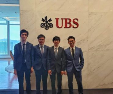 "The Team From CUHK (""W3C"") Consists of B.Eng SEEM and other students was a finalist (Top 5) in the UBS Group Chief Operating Officer (GCOO) Case Challenge 2019 – Hong Kong"