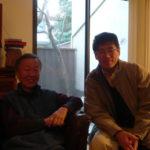 Prof Charles Kao and Professor Li Duan, Emeritus Professor of the Department