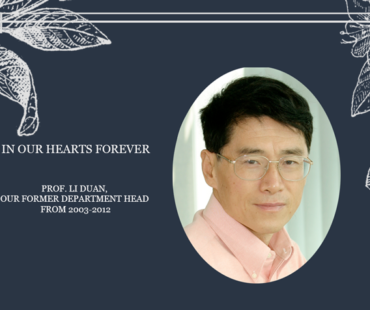 In Memory of Prof. Li Duan